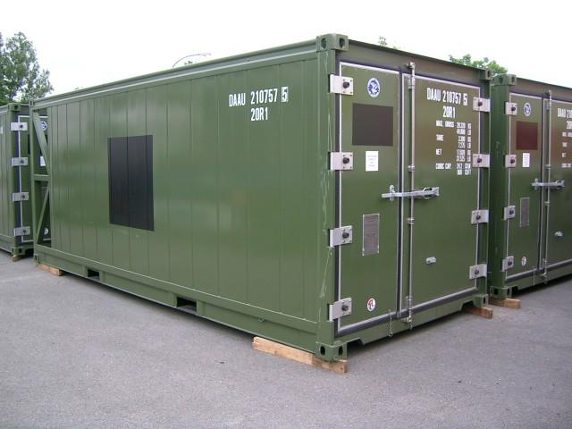 Instandsetzung von Bundeswehr und Technikcontainern