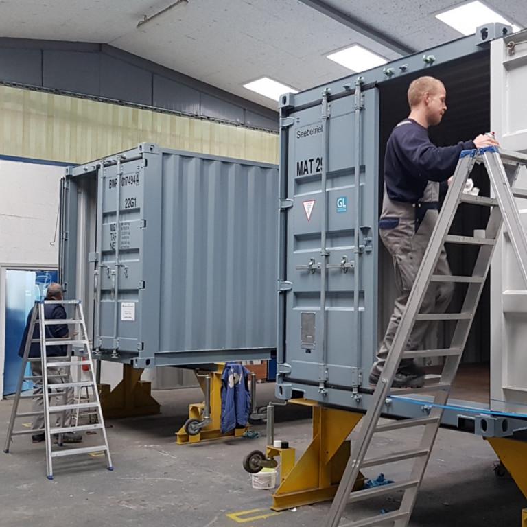 Neubau und Instandsetzung von Bundeswehr- und Technikcontainern